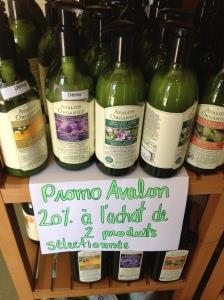 Obtenez 20% de rabais à l'achat des produits Avalon Organics